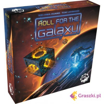 Roll for the Galaxy (PL) | GFP (dostawa gratis)